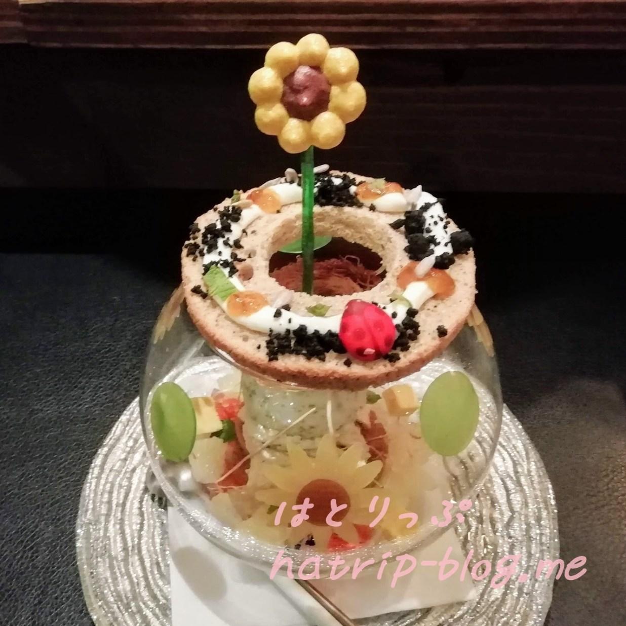 札幌 すすきの 夜パフェ専門店 パフェテリア パル ひまわりの約束