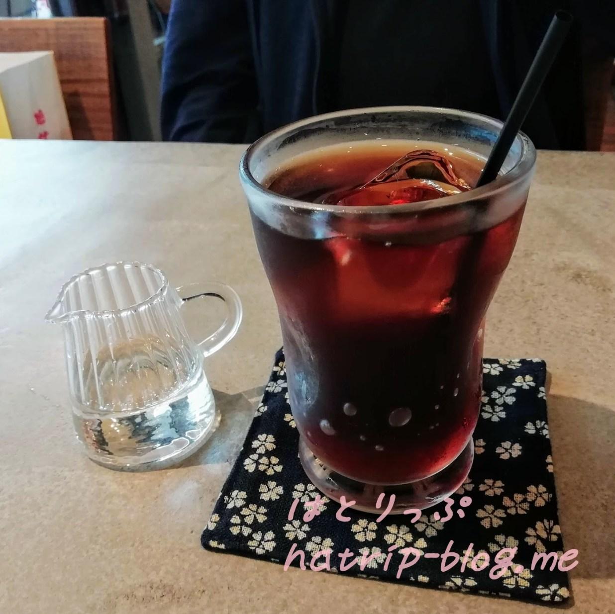 鎌倉 カフェレストラン 茶屋ひなた アイスティー