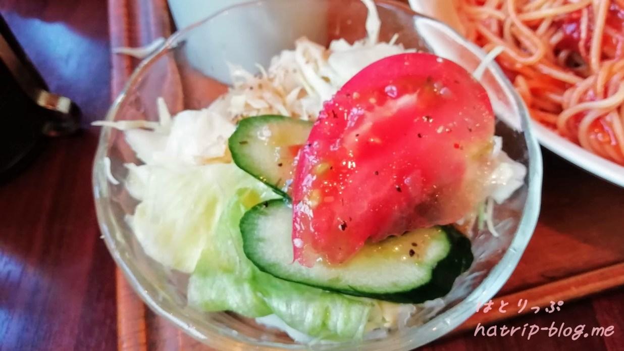 川口市南鳩ヶ谷 喫茶店 カフェ simon シモン ナポリタン サラダ