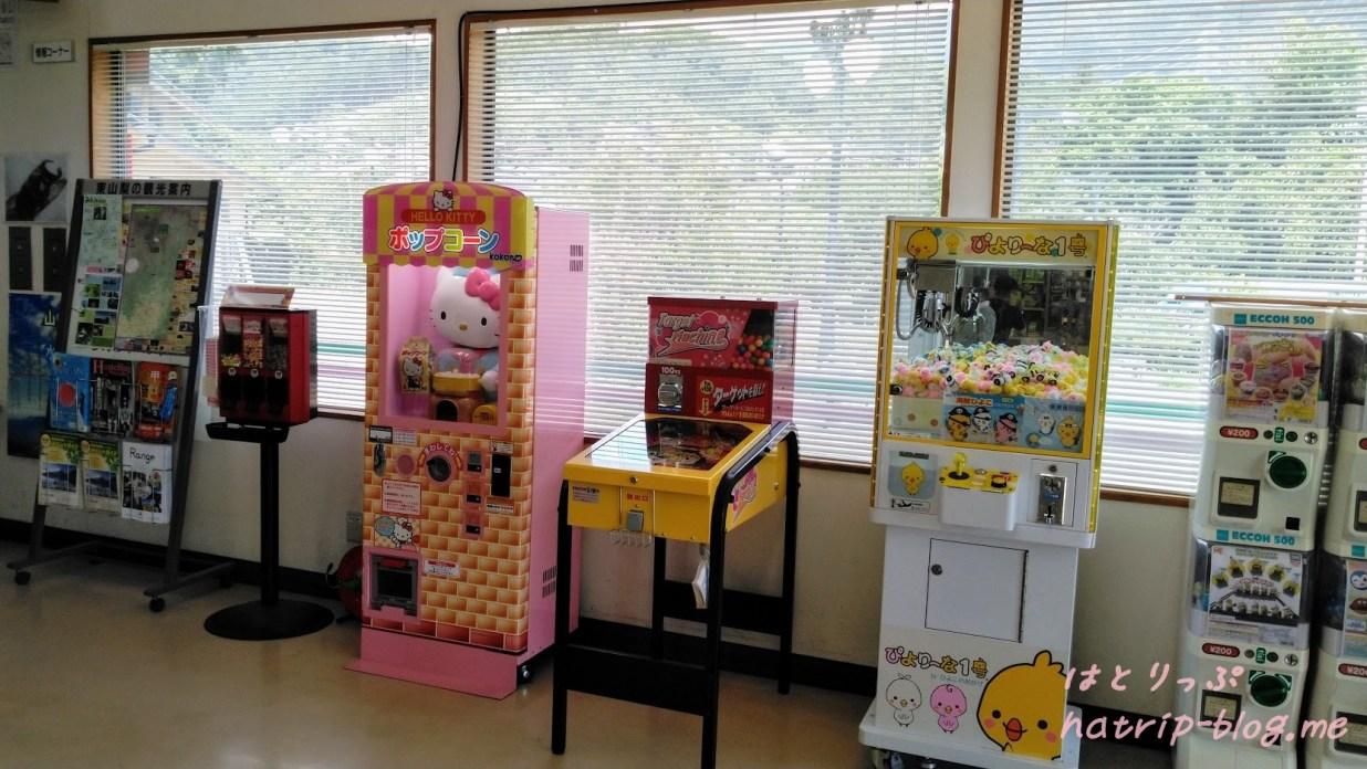 道の駅 花かげの郷まきおか ゲームコーナー