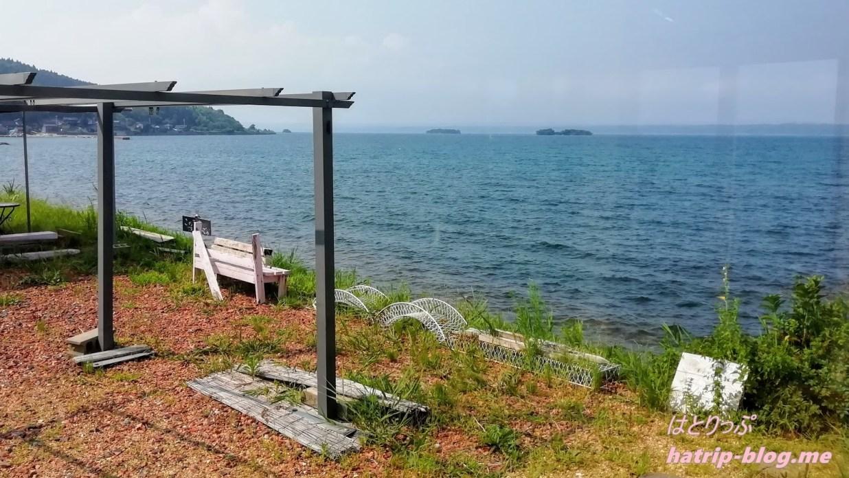 石川県七尾市 能登島 カフェ 海とオルゴール
