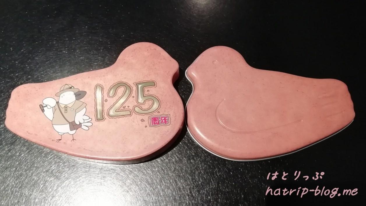 2019 鳩の日 8月10日 豊島屋本店 鳩サブレー1枚缶 限定缶 通常版