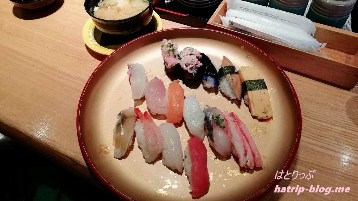 石川県 回転寿司 すし食いねぇ! 金沢高柳店 満腹ランチ
