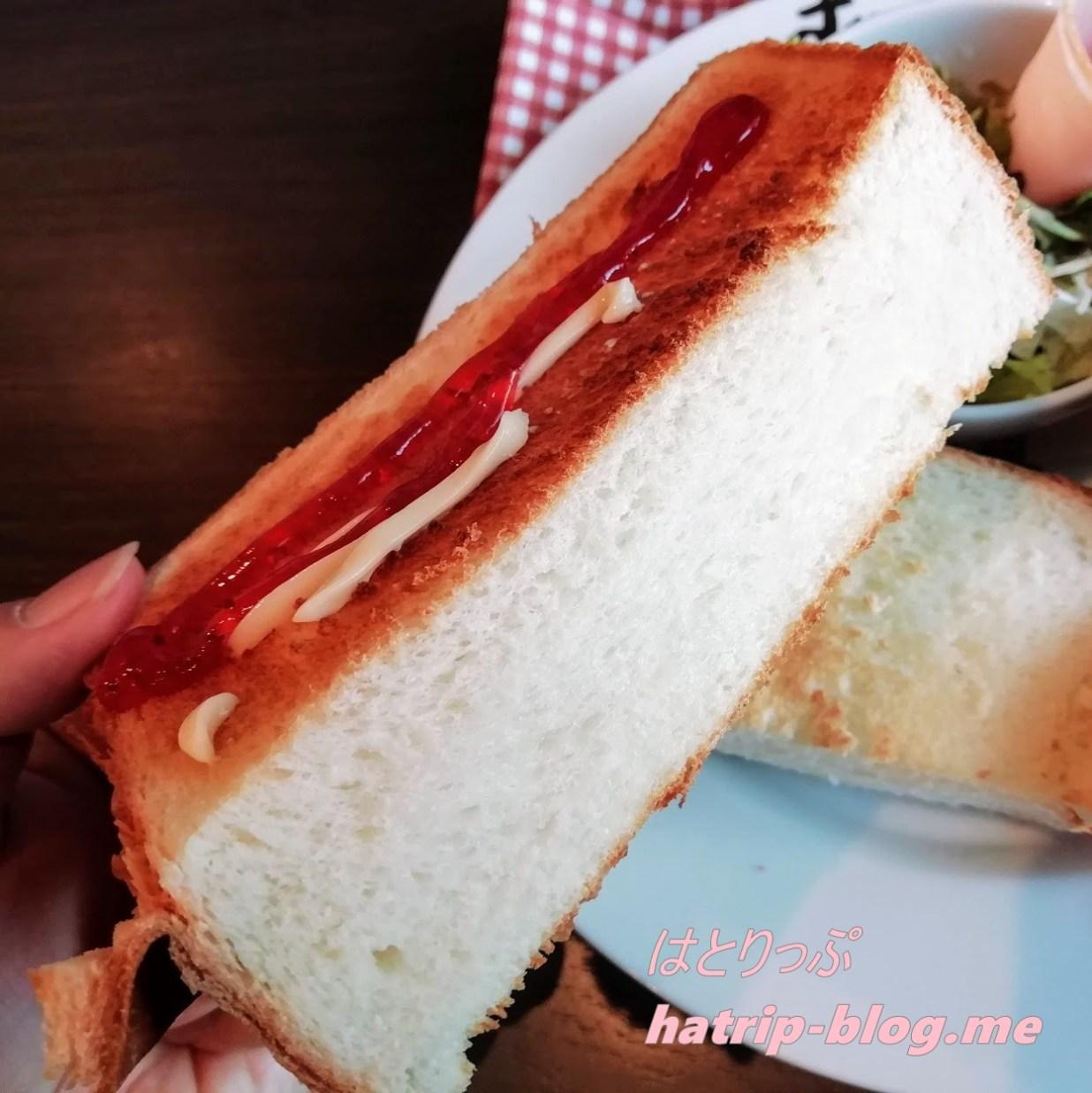 鳥取県鳥取市 すなば珈琲 賀露店 モーニングセット トースト