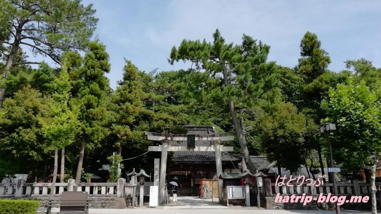 石川県金沢市 石浦神社 鳥居