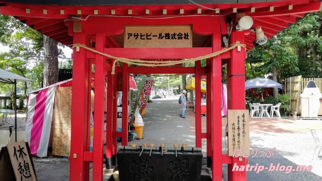 石川県金沢市 石浦神社 手水舎