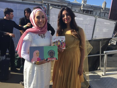 Noreen Khan and Nadia Hussein