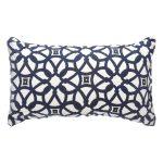 Luxe Indigo Sunbrella Outdoor Throw Pillows On Sale