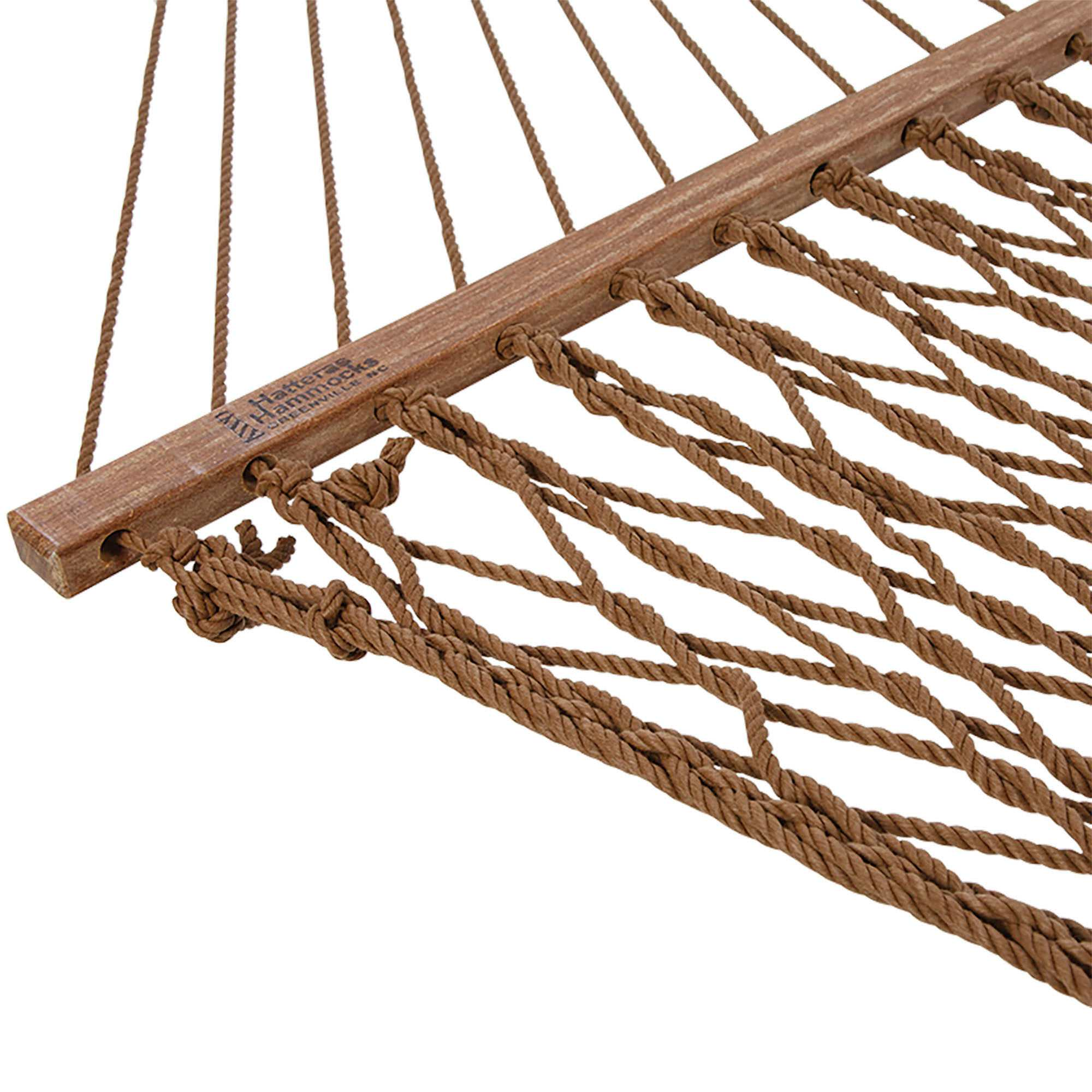 Antique Brown Deluxe Duracord Rope Hammock