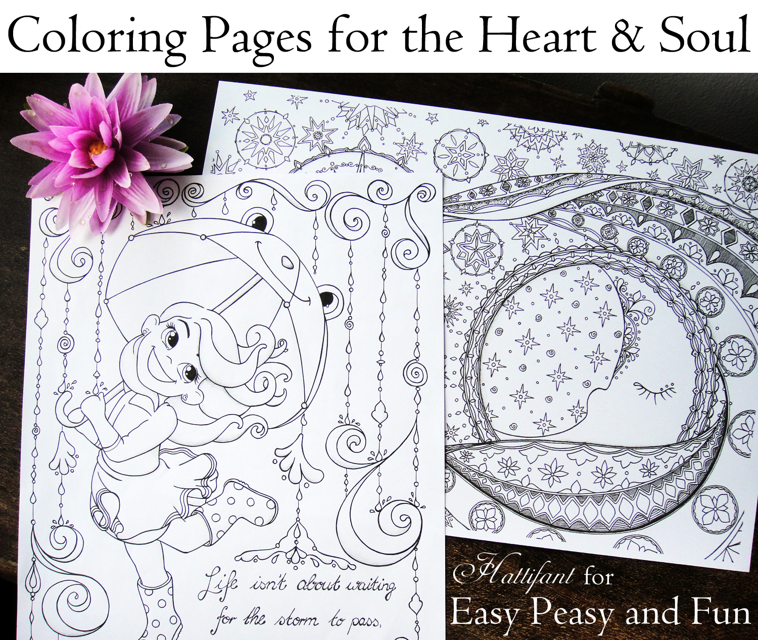Coloring Pages For The Heart And Soul Hattifant