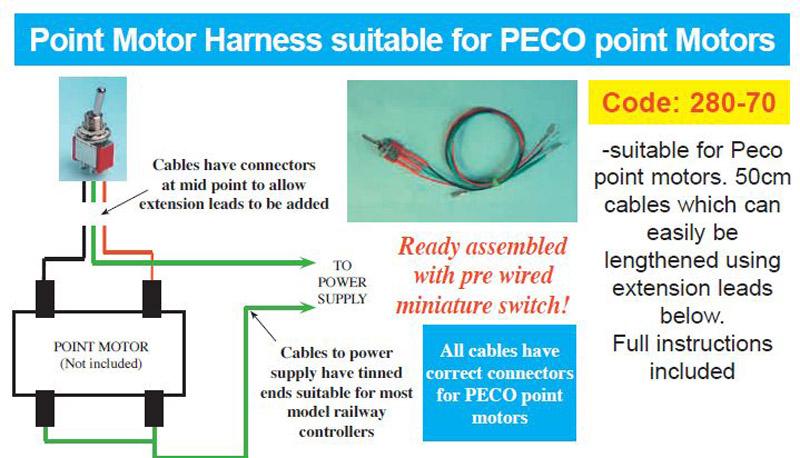 Peco Point Motor Instructions   Motorssite.org