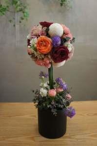 Quả cầu xốp cắm hoa