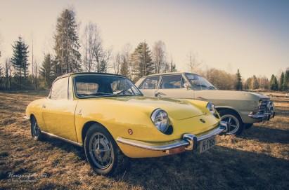 Fiat og Opel. På torsdagstreffen er det stor variasjon. Det er fint!