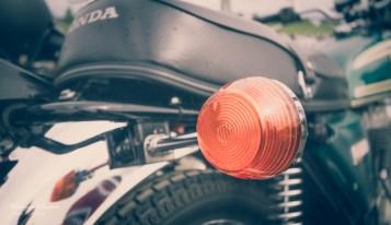 Blinklys på en pen Honda