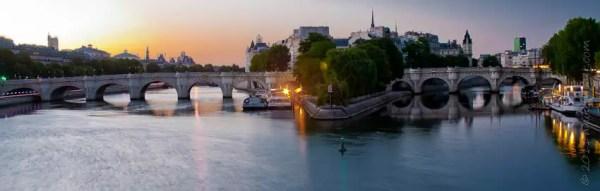 Île de la Cité au petit matin