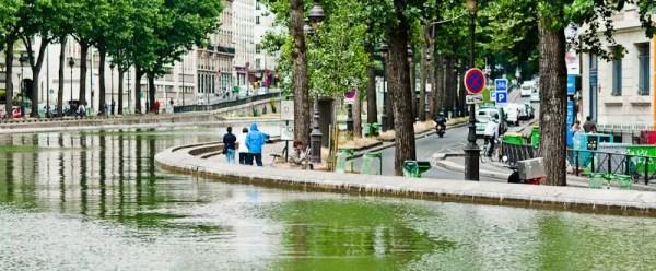 le canal Saint-Martin, 10e