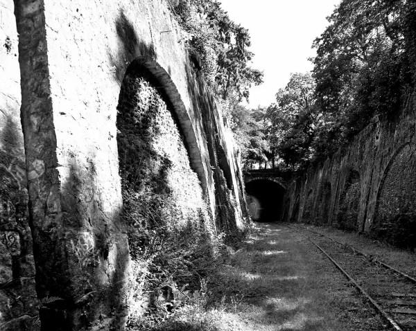 la traverse du Parc Montsouris