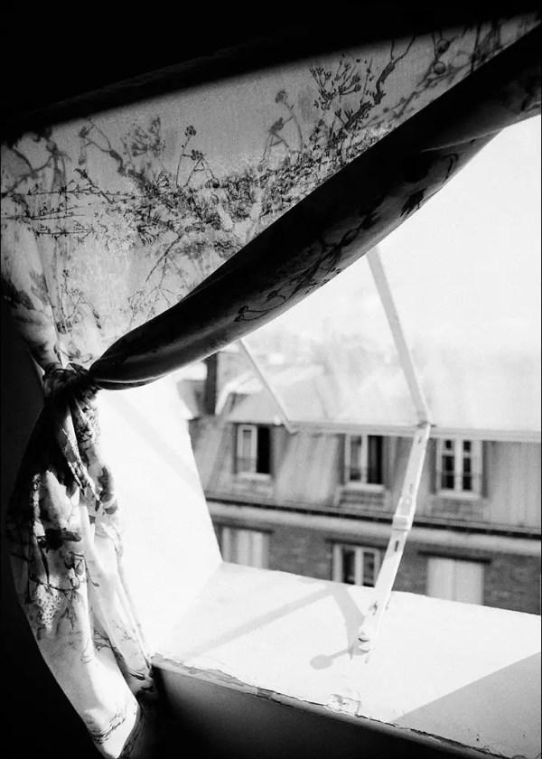 la vue de la chambre. Paris, 2013