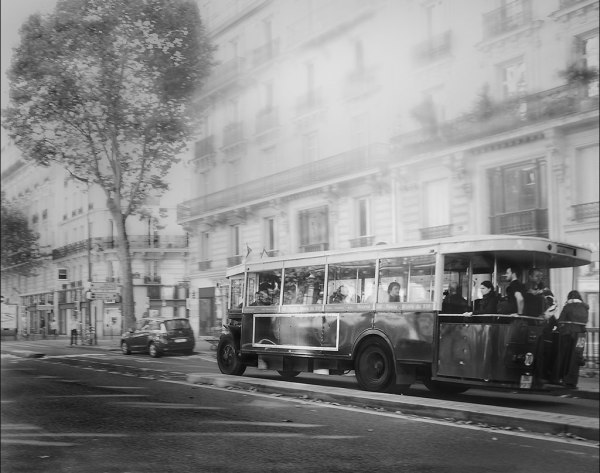 Comme autrefois - le matériel roulant de la RATP dans les Boulevards de Paris
