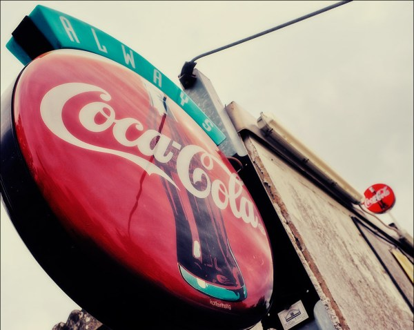 panneaux Coca-Cola