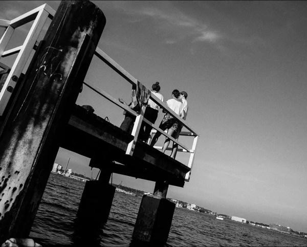 une soirée au bord de la Baltique. Kiel 2014