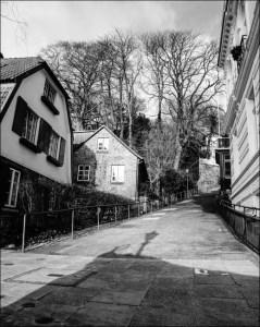 dans la petite village de Övelgönne