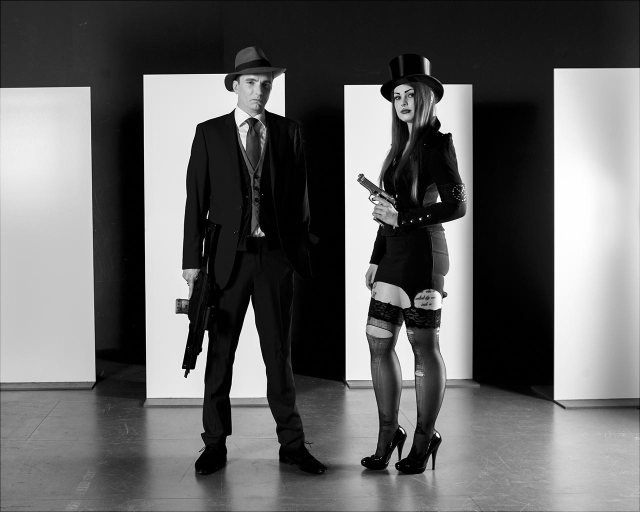 Bonnie and Clyde …