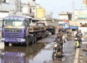 Image result for Tanker drivers task Fashola on immediate repairs dilapidating roads