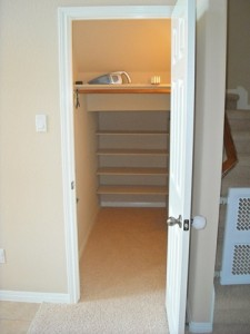 organize an under the stairs closet space(1)
