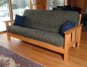 old futon sofa
