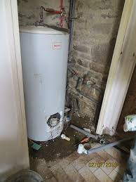 water heater removal