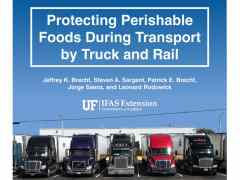 Updated Perishable Food Transportation Guidelines is Now Available