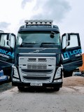 Logikal Network's Volvo vehicle with its doors open