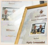 Awards presented to HaulTech at the Sentinel Business Awards