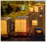 UK Drivers heading down the motorway