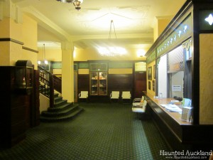 The Masonic Hotel foyer