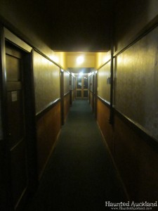 The Masonic Hotel hallway