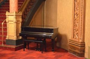 A piano, Wintergarden, Auckland Civic Theatre