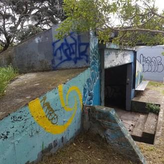 Bastion Point gun emplacements