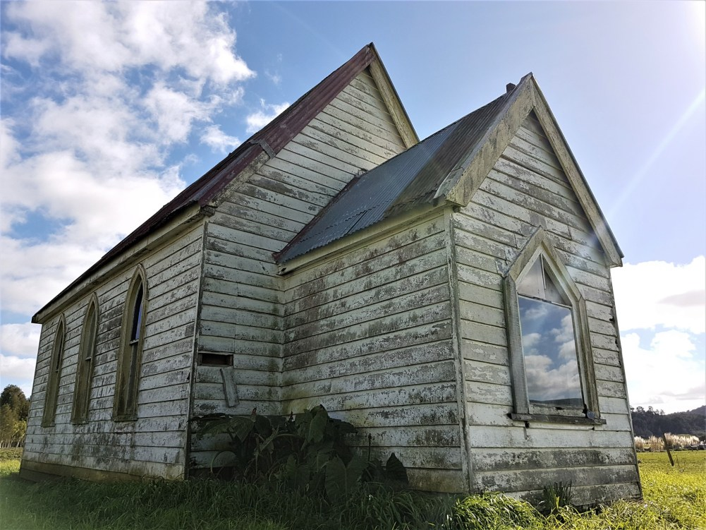 Abandoned Zion Church - Matakohe