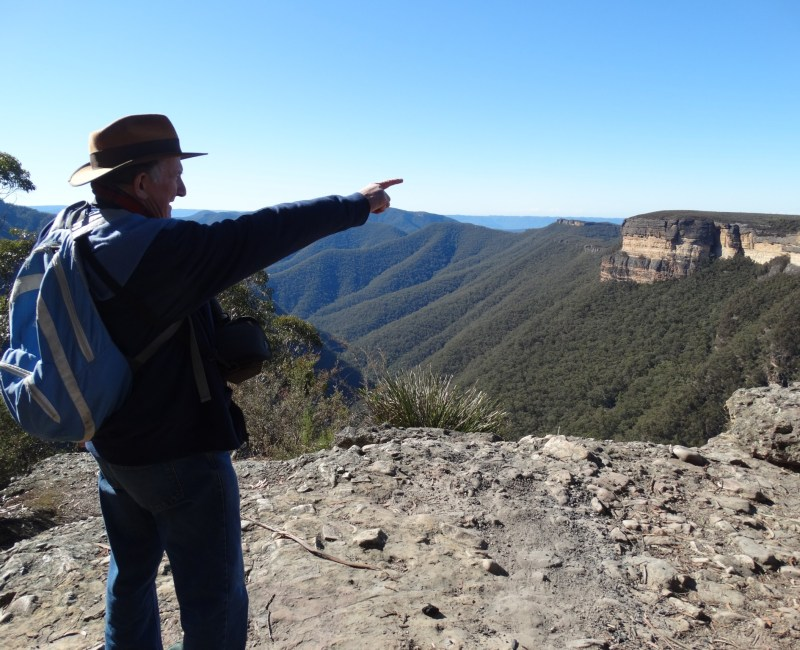 Kanangra Ranges (Australia) exploration with Rex Gilroy