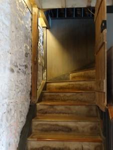 The Stone Store, stairway