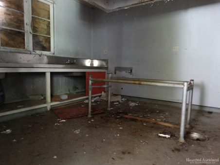 Kingseat Hospital Morgue - Main Autopsy Room