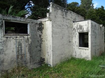 Kingseat Hospital Morgue - Exterior Rear