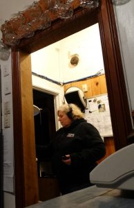 Barbara investigates at the Central Hotel, Dargaville