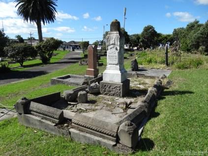 Birkenhead/Glenfield Cemetery headstone