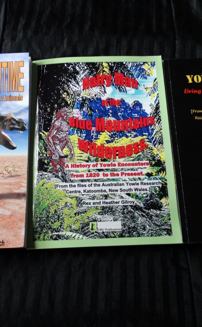 Books by Rex Gilroy. Recommended reading on Yowie Research