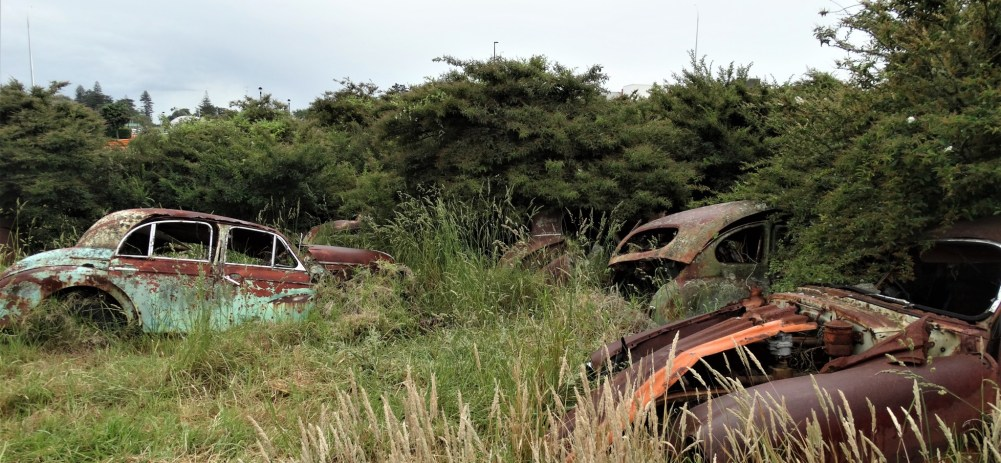 Car and tractor 'graveyard' – Auckland