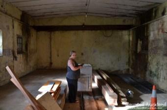 Mine Room No. 1 - Torpedo Bay Naval Museum