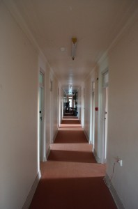 Administration corridor - Spookers, Kingseat